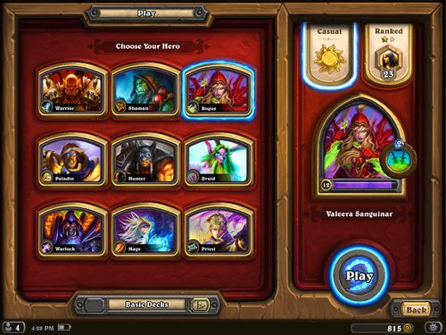 Board games Hearthstone: Heroes of Warcraft in English