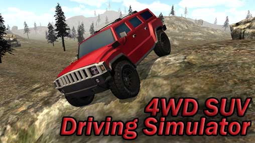 4WD SUV driving simulator icono