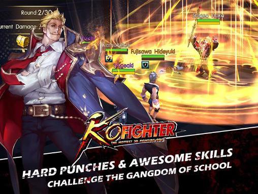Kampfspiele KO fighter: The hottest 3D fighting RPG für das Smartphone