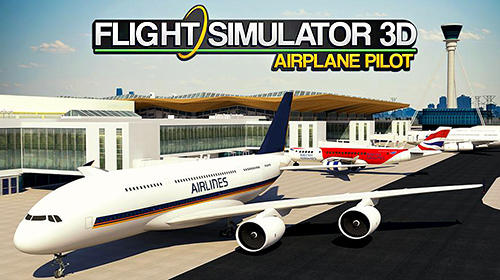 Flight simulator 3D: Airplane pilot capture d'écran