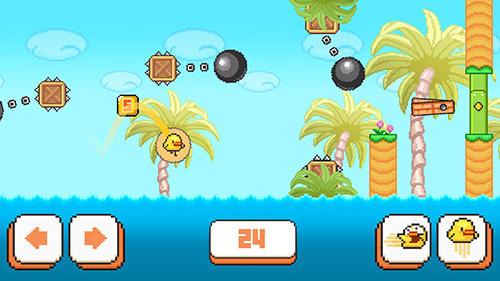 Arcade-Spiele Birdy McFly: Run and fly over it! für das Smartphone