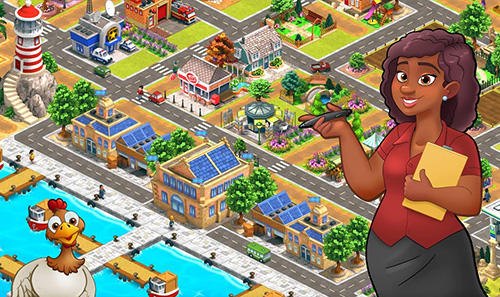 Strategie Farm dream: Village harvest paradise. Day of hay für das Smartphone