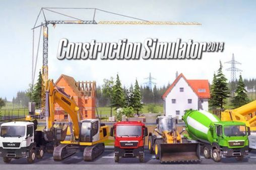 Construction simulator 2014 скріншот 1