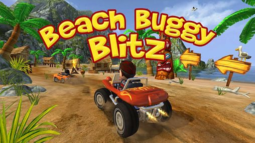 Screenshot Strand Buggy Blitz auf dem iPhone