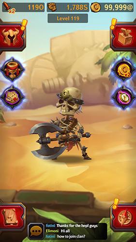 Dungeon crusher: Soul hunters Screenshot