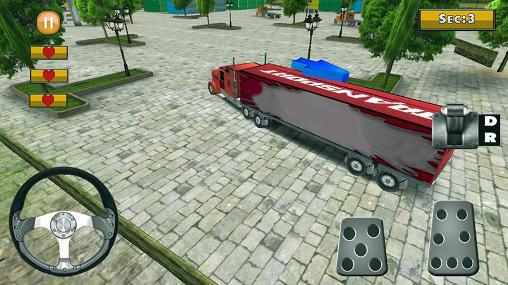 18 wheeler truck simulator für Android