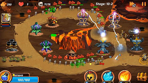 Tower defense battle for Android