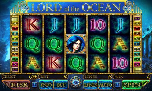 Glücksspiele Lord of the ocean: Slot für das Smartphone