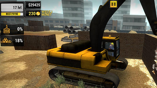 Construction machines 2016 pour Android