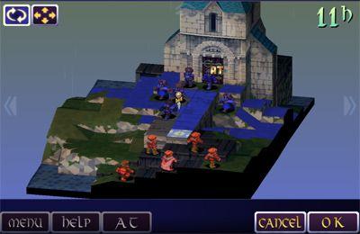 Screenshot Final Fantasy Taktiks: Der Krieg der Löwen auf dem iPhone