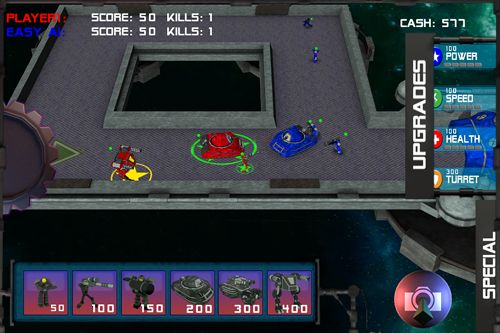 Screenshot Stern Arena auf dem iPhone