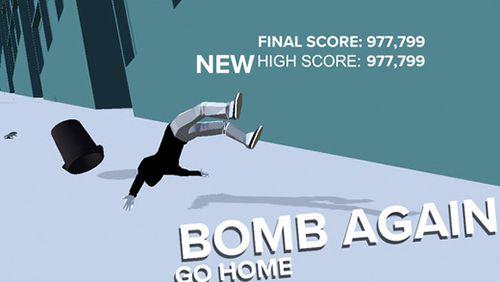 Screenshot F-Bomb Skate auf dem iPhone