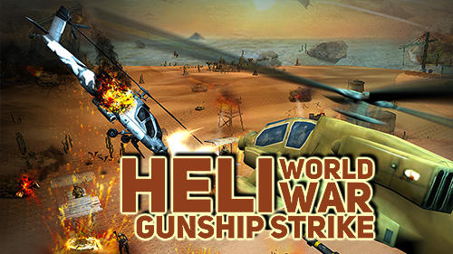 Heli world war gunship strike icon