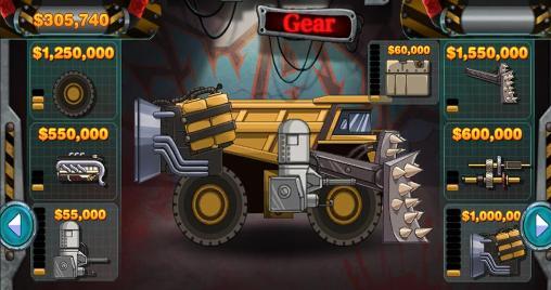 Arcade Monster car: Hill racer für das Smartphone