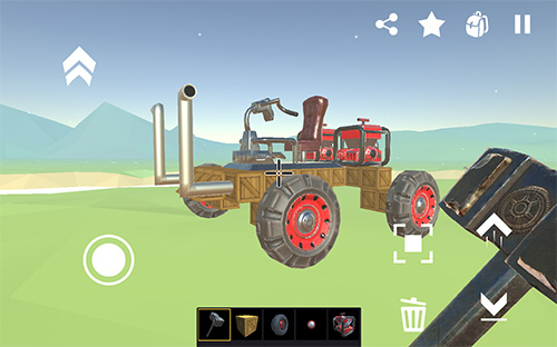 SSS: Super scrap sandbox. Become a mechanic скриншот 1
