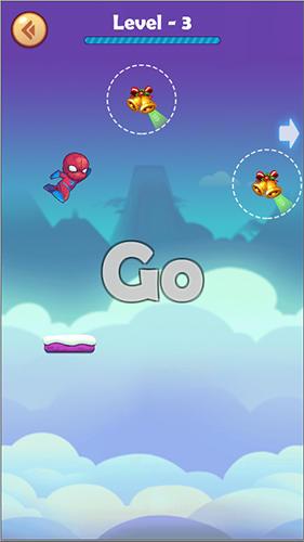 Скриншот Stick man jump на андроид