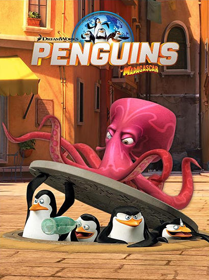 Penguins of Madagascar: Dibble dash Screenshot