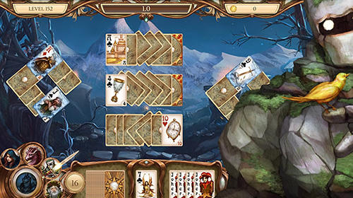 Snow White solitaire. Shadow kingdom solitaire: Adventure of princess für Android