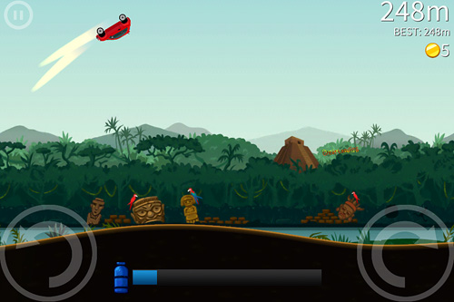 Arcade: download Extreme road trip 2 to your phone