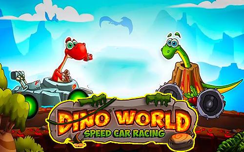 Dino world speed car racing Symbol