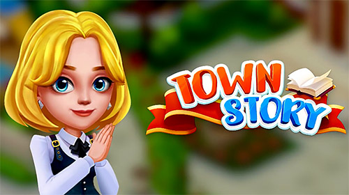 Town story: Match 3 puzzle скриншот 1