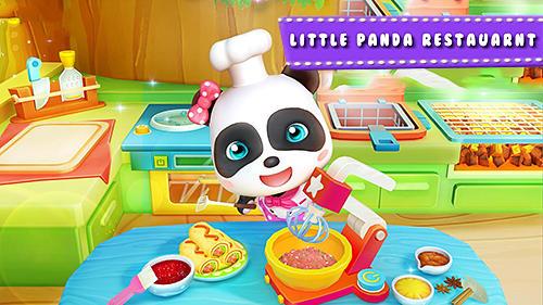 Скриншот Little panda restaurant на андроид