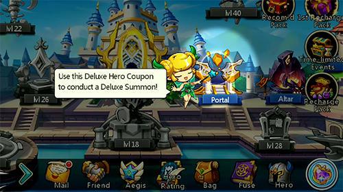 Endless saga screenshot 2