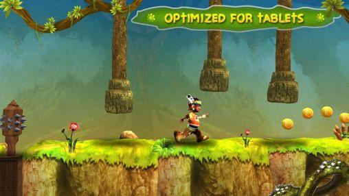 Arcade-Spiele Fun n run 3D für das Smartphone