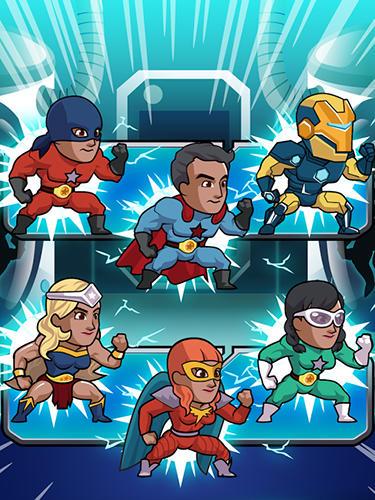 Super league of heroes: Comic book champions auf Deutsch
