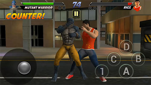 Ultimate mutant warrior 3D screenshot 1