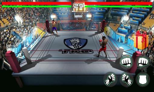 Kampfspiele Boxing: Defending champion für das Smartphone