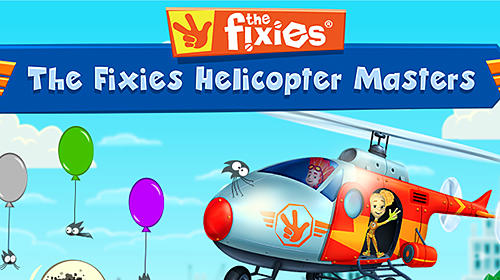 The fixies: The fixies helicopter masters. Fiksiki: Building games fix it free games for kids Screenshot