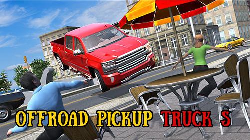 Offroad pickup truck S captura de pantalla 1