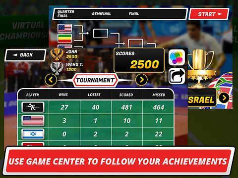 Tischtennis 3D: Virtuelle Meisterschaft auf Deutsch