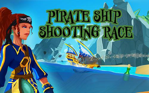 Pirate ship shooting race Symbol