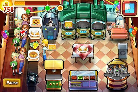 Strategie: Lade Pizza Shop Mania auf dein Handy herunter