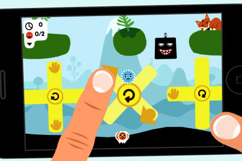 Arcade-Spiele: Lade Rolando auf dein Handy herunter