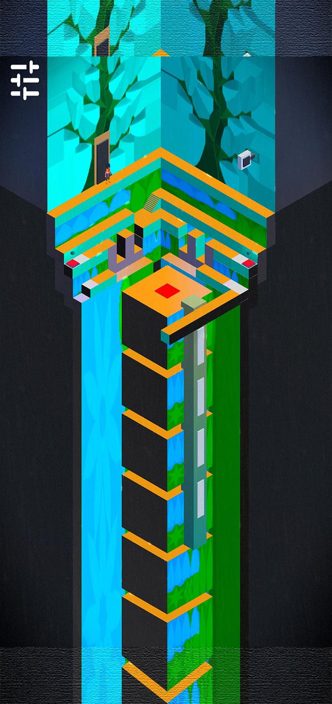 Odie's Dimension II: Isometric puzzle android game captura de pantalla 1