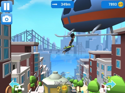 Screenshot Faily Skater auf dem iPhone