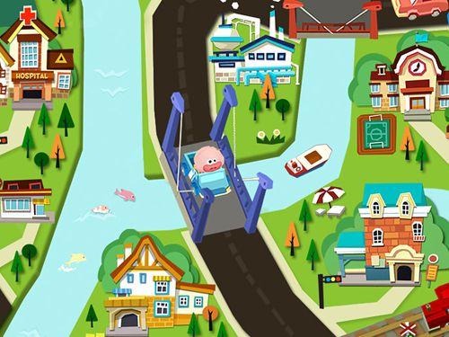 Captura de tela Carros de brinquedos de dr. Panda no iPhone