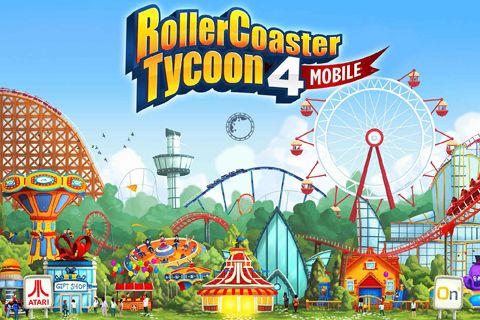 Screenshot Rollercoaster Tycoon 4: Mobile auf dem iPhone