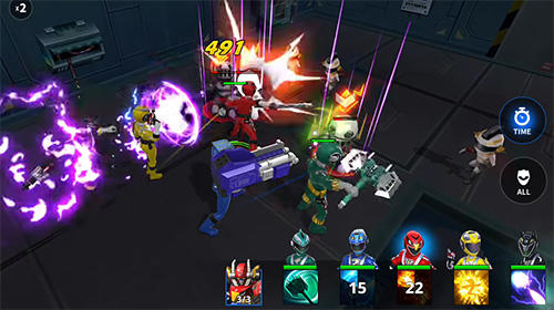Power rangers: RPG for Android