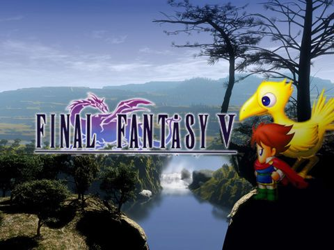 Screenshot Final Fantasy V auf dem iPhone