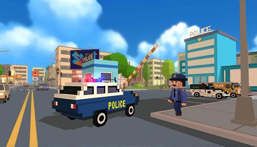Blocky city: Ultimate police für Android