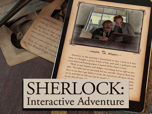 logo Sherlock: Aventura interactiva
