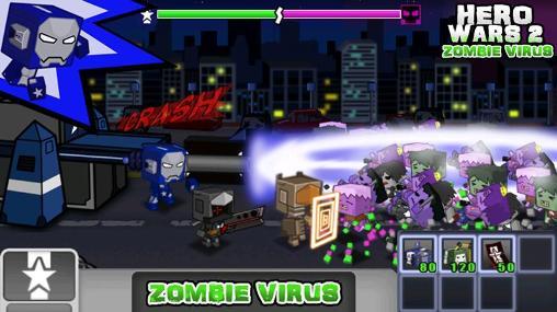 Hero wars 2: Zombie virus для Android