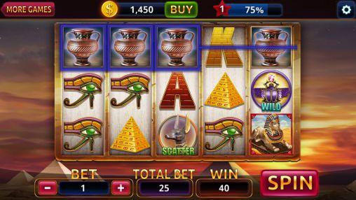Egypt slots casino machines screenshot 4
