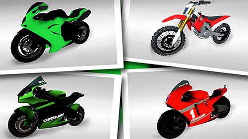Rennspiele Moto extreme racing für das Smartphone