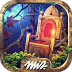 Hidden objects haunted thrones: Find objects game Symbol