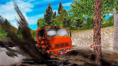 Russian truck driver simulator для Android